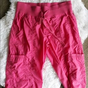 EUC‼️ Peaches Uniform Cargo Scrub Bottoms